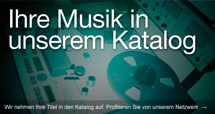 Musiklizenz.de - Ihre Musik in unserem Katalog